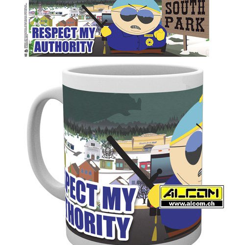 Tasse: South Park - Respect my Authority