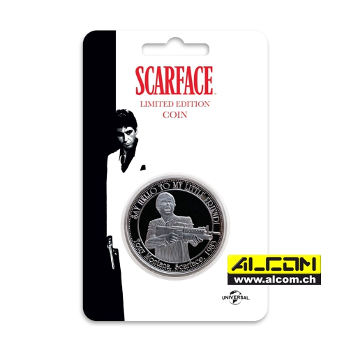 Münze: Scarface - The World is yours, auf 9995 Stk. limitiert