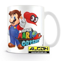 Tasse: Super Mario Odyssey - Mario with Cappy
