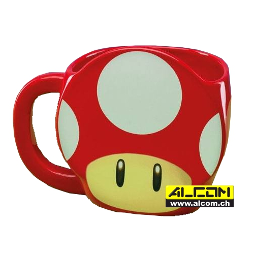 Tasse: Super Mario Power-Up Mushroom