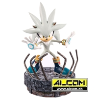 Figur: Sonic the Hedgehog Silver (44 cm) First4Figures