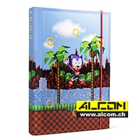 Notizbuch: Sonic the Hedgehog (Format A5)