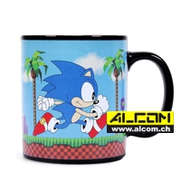 Tasse: Sonic The Hedgehog (mit Thermoeffekt)