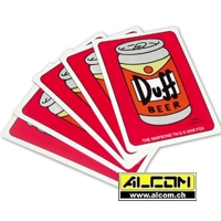 Pokerkarten: Die Simpsons - Duff Beer