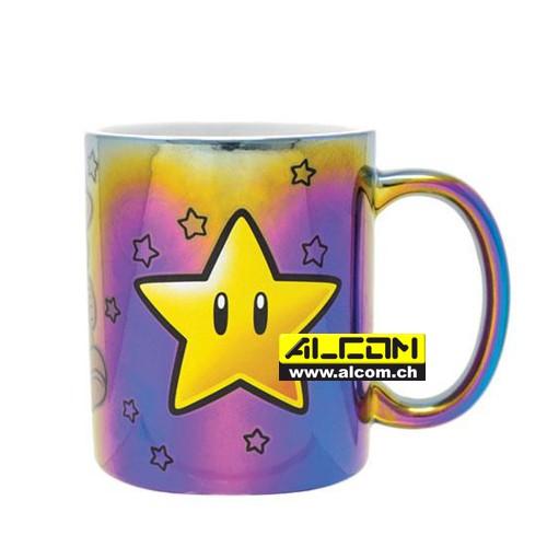 Tasse: Super Mario Metallic Star Power [Merchandise] - alcom.ch