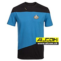 T-Shirt: Star Trek Uniform, Blue