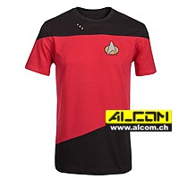 T-Shirt: Star Trek Uniform, Red