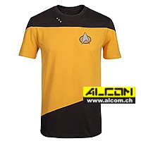 T-Shirt: Star Trek Uniform, Yellow