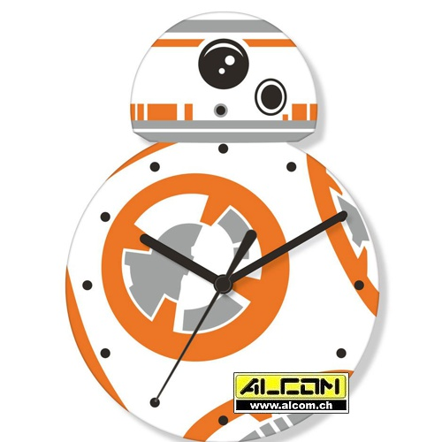 Wanduhr: Star Wars Episode VII - BB-8