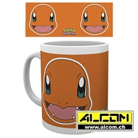 Tasse: Pokemon - Glumanda Face