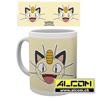 Tasse: Pokemon - Mauzi Face