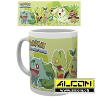 Tasse: Pokemon - Grass Partners