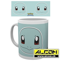 Tasse: Pokemon - Schiggy Face