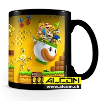Tasse: Super Mario Bros. - Gold Coin Rush (mit Thermoeffekt)