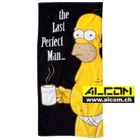 Badetuch: Die Simpsons - The Last Perfect Man (150 x 75 cm)