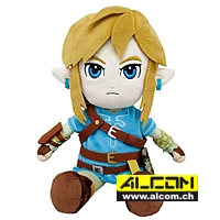 Figur: The Legend of Zelda - Breath of the Wild - Link, Plüsch (21 cm)