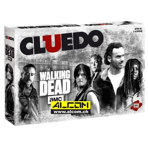 Brettspiel: Cluedo - The Walking Dead