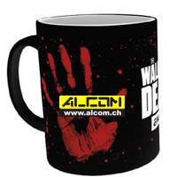 Tasse: The Walking Dead - Tasse mit Thermoeffekt Hand Print