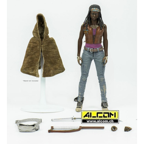 Figur: The Walking Dead - Michonne 1/6 (30 cm) ThreeZero