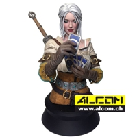 Büste: The Witcher 3 Wild Hunt - Ciri playing Gwent (20 cm) Dark Horse