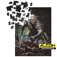 Puzzle: The Witcher 3 Wild Hunt - Geralt (1000 Teile)