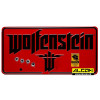 Metallschild: Wolfenstein - The New Colossus (Blech, 33 x 16 cm)