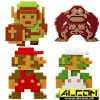 Figurenset: World of Nintendo Retro 8-Bit, 5 Figuren (6 cm)