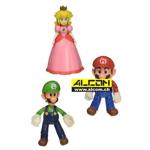 Figurenset: World of Nintendo, 3 Figuren (jeweils ca. 10 cm)