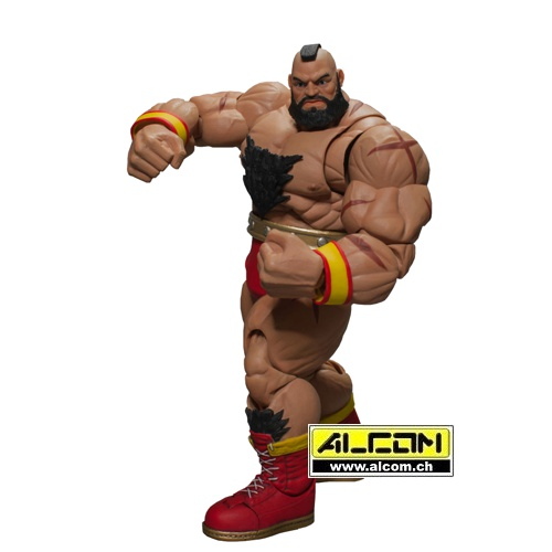 Figur: Street Fighter V - Zangief (21 cm) - Storm Collectibles