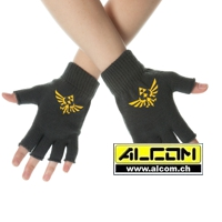 Handschuhe: The Legend of Zelda - Logo (fingerlos)