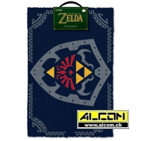 Fussmatte: The Legend of Zelda - Hylia Schild (40 x 60 cm)