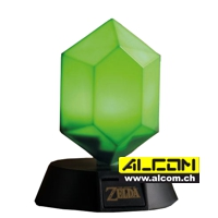 Lampe: The Legend of Zelda - Grüner Rubin (10 cm)