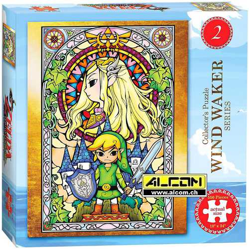 Puzzle: The Legend of Zelda - Wind Waker Version 2 (550 Teile)