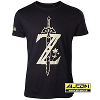 T-Shirt: The Legend of Zelda - Breath of the Wild Z Sword
