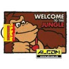 Fussmatte: Donkey Kong - Welcome to the Jungle (40 x 60 cm)