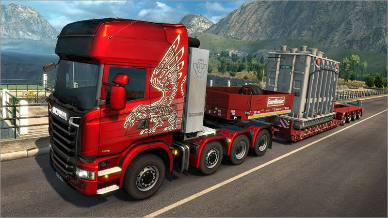 Euro Truck Simulator 2 - Heavy Cargo Edition (PC-Spiel)
