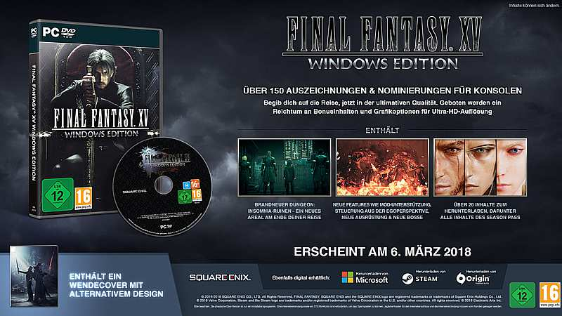 Final Fantasy 15: Windows Edition (PC-Spiel)
