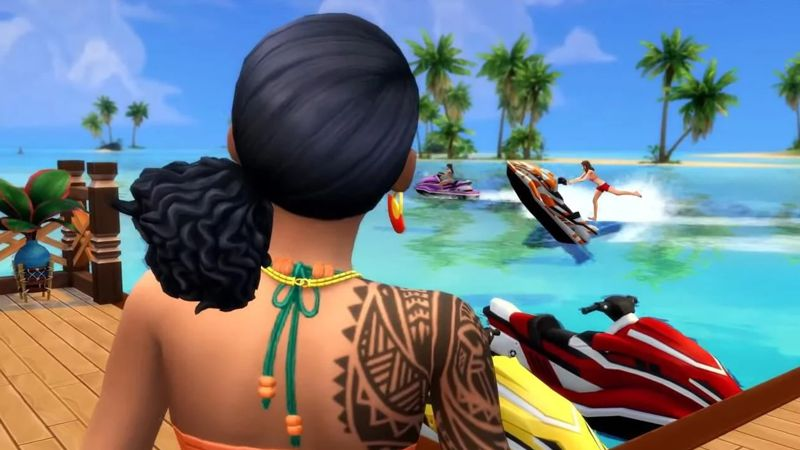 Die Sims 4 Add-on: Island Living (Code in a Box) (PC-Spiel)