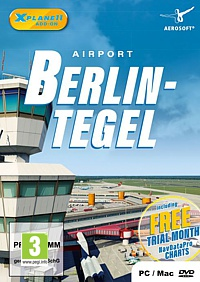 X-Plane 11 Add-on: Airport Berlin-Tegel (PC-Spiel)