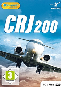 X-Plane 11 Add-on: CRJ-200 (PC-Spiel)