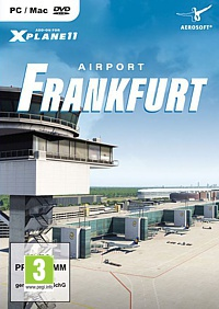 X-Plane 11 Add-on: Airport Frankfurt (PC-Spiel)
