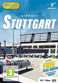 X-Plane 11 Add-on: Airport Stuttgart (PC-Spiel)