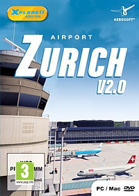 X-Plane 11 Add-on: Airport Zurich V2.0 (PC-Spiel)
