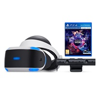 Playstation VR Headset V2 + Kamera + VR Worlds (Playstation 4)