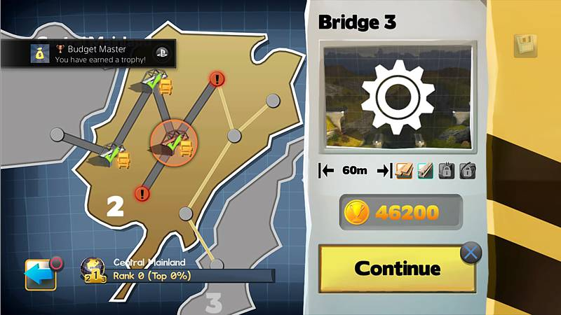 Bridge Constructor - Compilation (Playstation 4)