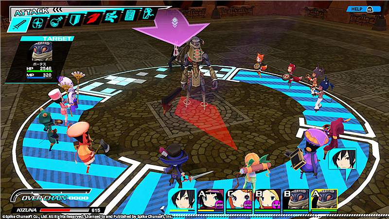 Conception Plus: Maidens of the Twelve Stars (Playstation 4)