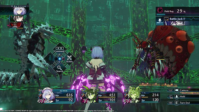 Death end re;Quest (Playstation 4)