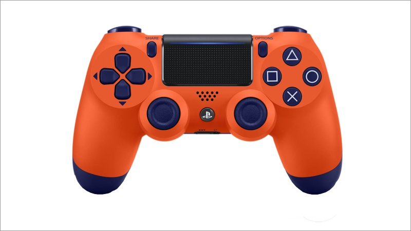 Controller Dual Shock 4, Sunset orange (Playstation 4)