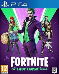 Fortnite - The Last Laugh Bundle (Code in a Box) (Playstation 4)