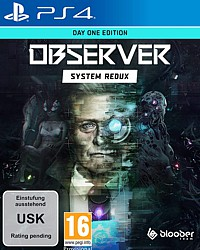 Observer: System Redux - Day 1 Edition (Playstation 4)